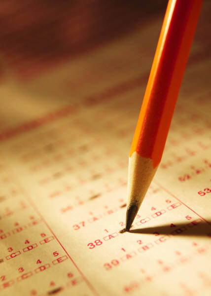 Pencil and Scantron