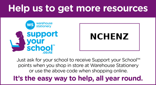 Support NCHENZ by shopping at Warehouse Stationery